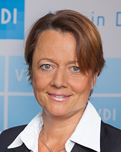 Dagmar Dirzus (VDI/VDE Society for Measurement and Automatic Control)